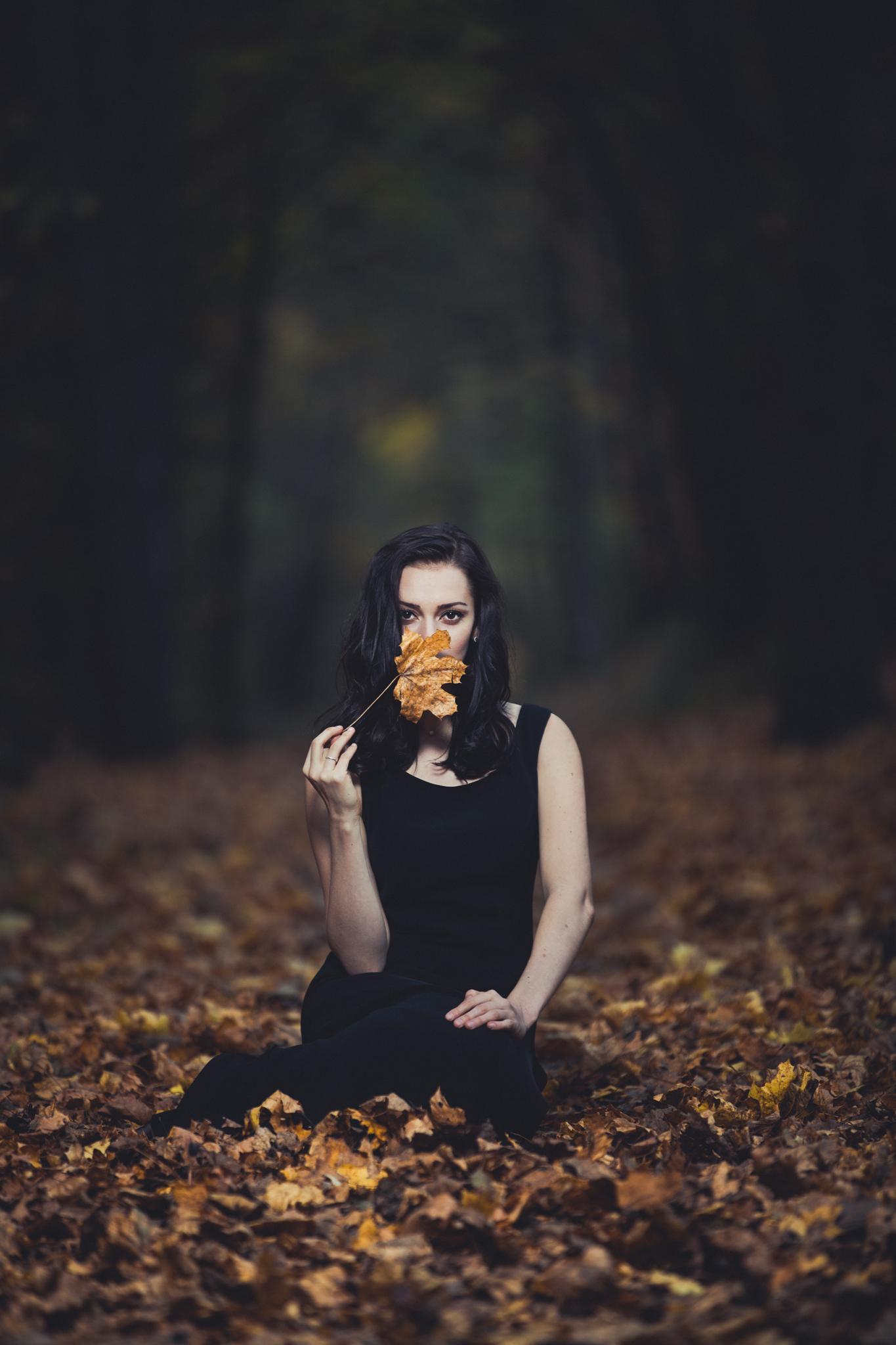 Herbsthooting mit Model Morra