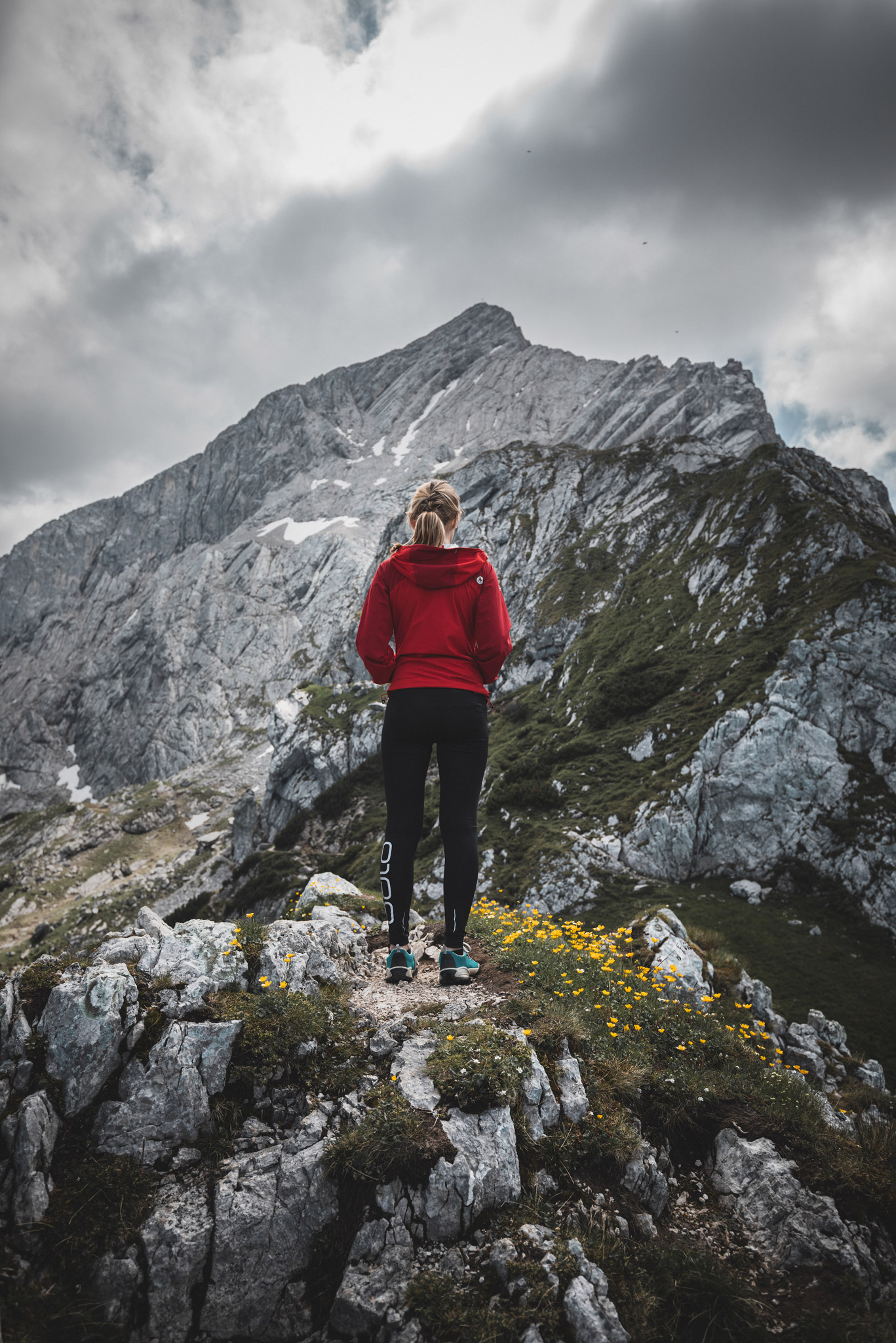 Elisa bei der Alpspitze