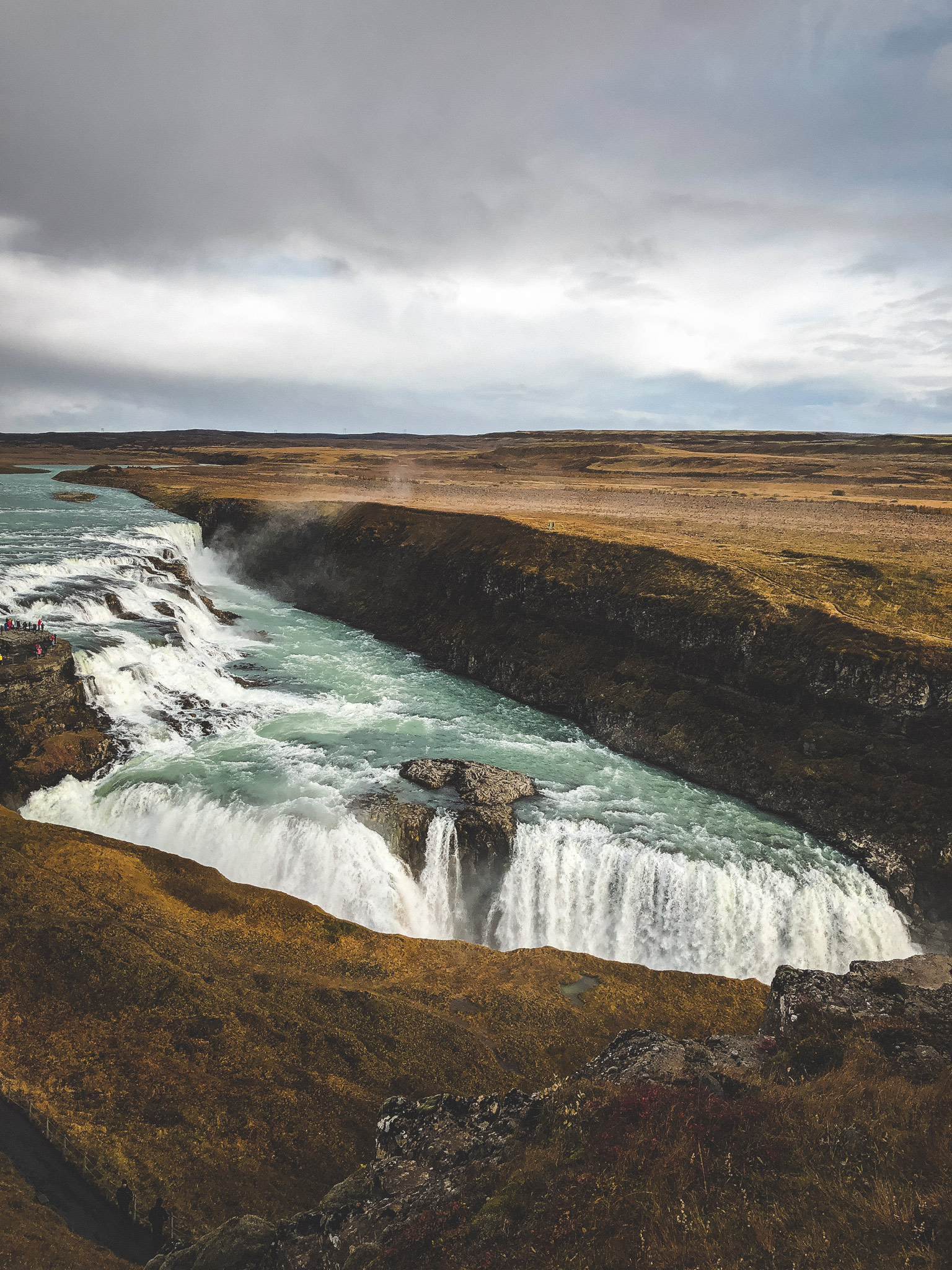 Gullfoss - Wasserfall in Island