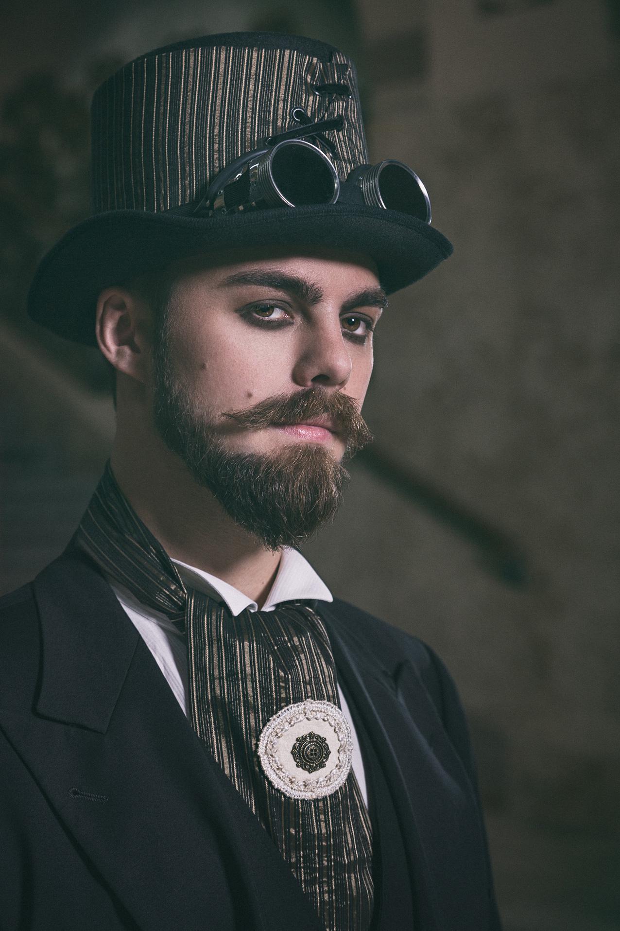 SteamPunk Shooting - Julian im Volksbad