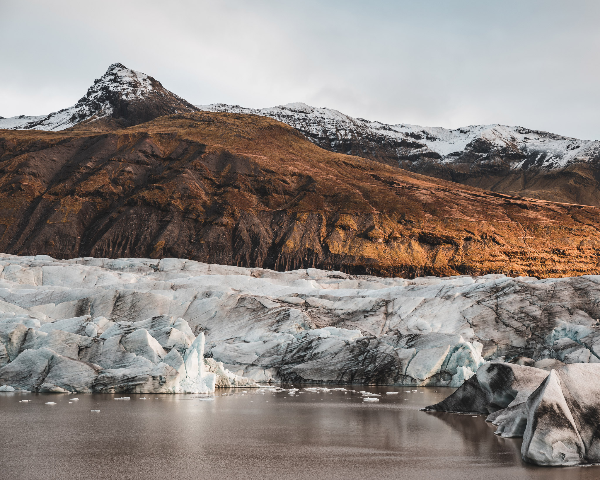 Svinjafellsjokull in Island
