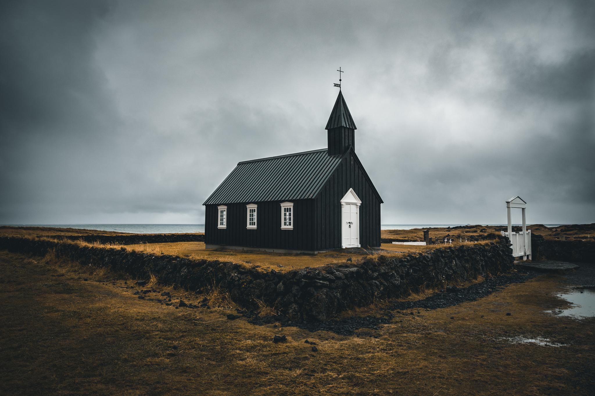 Kirkja Budir - in Island