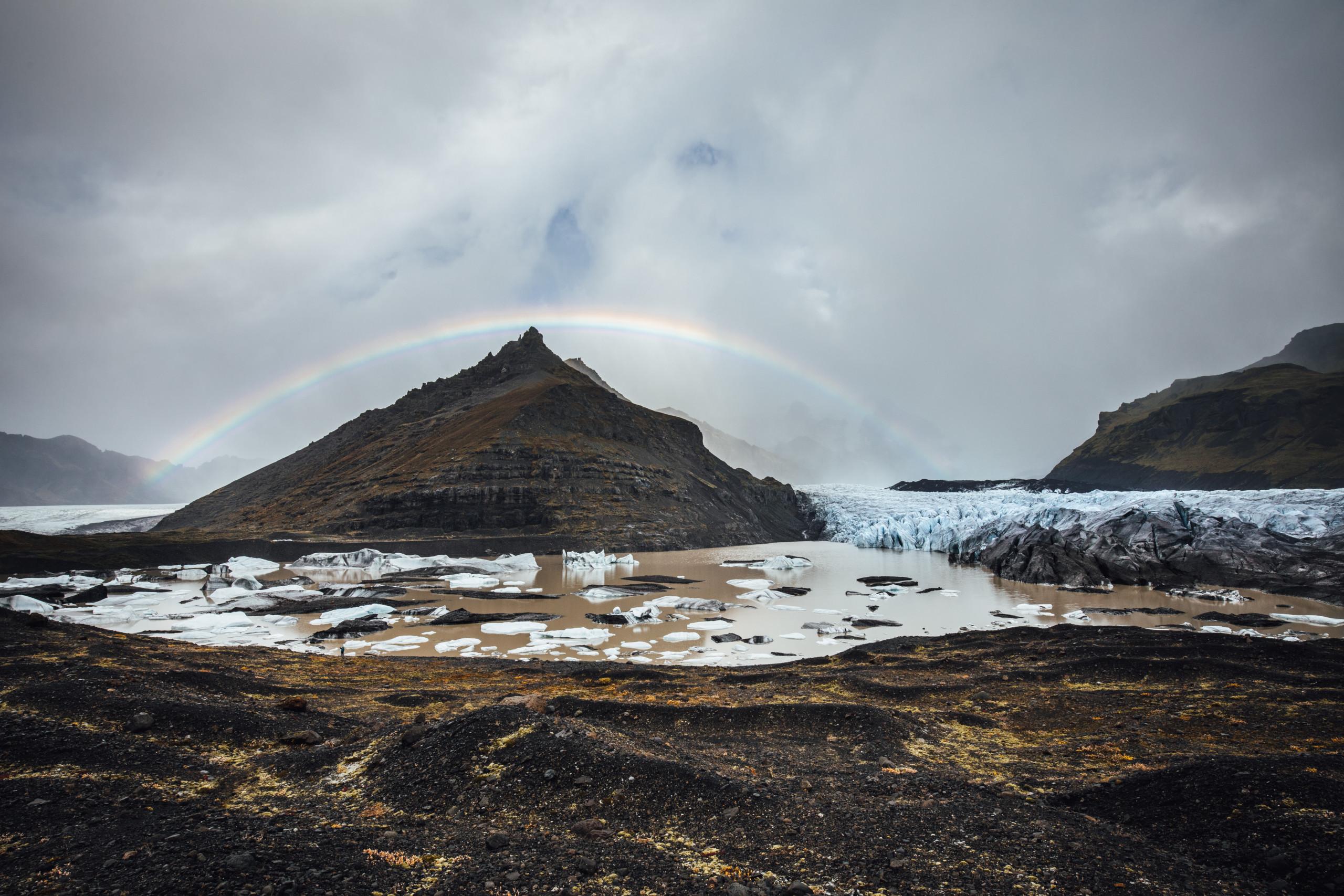 Svínafellsjökull Island